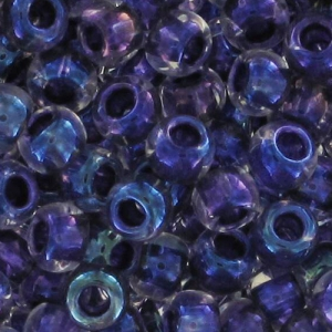 Toho Seed beads 11/0 TO11R181 - Rainbow Crystal Tanzanite Lined