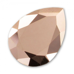 Swarovski 4320 Pear Fancy Stone 18x13mm Crystal Rose Gold x1