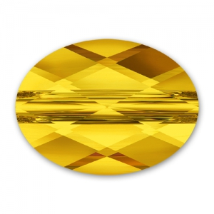 Swarovski Mini Oval 5051 10x8mm Sunflower x1