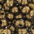 Miyuki Fringe beads 3.4mm DP457 - Metallic Dark Bronze x8g