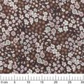 Fabric Lecien - Chocolate x10cm