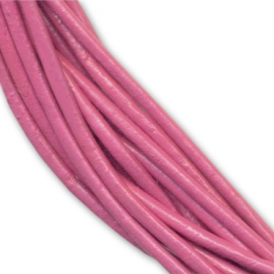 Leather cord 1,5mm Antique Rose  x 2m