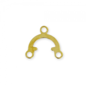 Spacers 9,5x8,5mm Gold tone x20