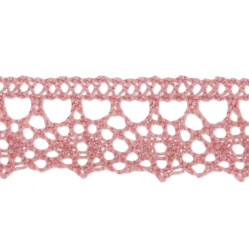 lace 13mm vieux rose x1m perles co. Black Bedroom Furniture Sets. Home Design Ideas