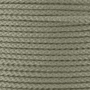 Braided nylon thread 1.3mm Greige x2.90m
