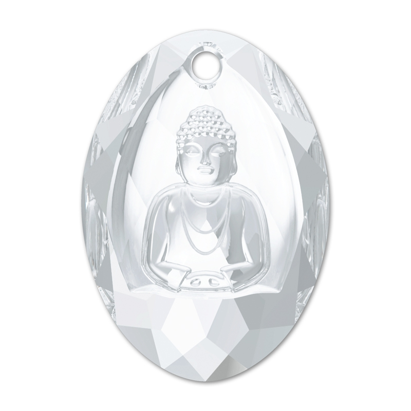 3c41ed7cd Swarovski Buddha 6871 28x19.8mm Crystal x1 - Perles & Co