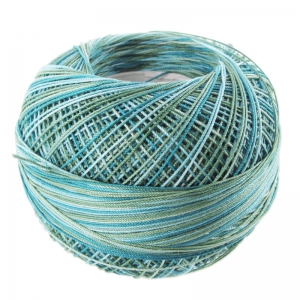 cotton yarn Lizbeth size 40 Blue River Glades n°164 x274m