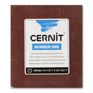 Cernit Number One 250gr Brown (n°800)