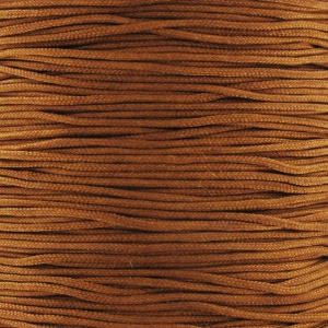 Braided nylon thread 0.8mm Terracotta x2.90m