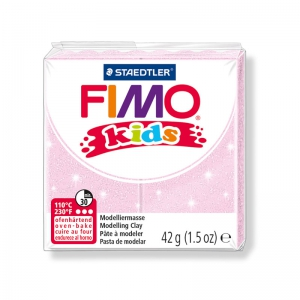 Polymer Clay Fimo Kids 42gr glitter light pink (n°206)