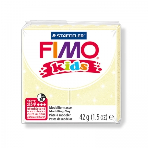 Polymer Clay Fimo Kids 42gr yellow pearl (n°106)