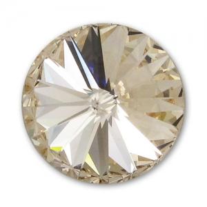 d05a28881d60e Swarovski 1122 Rivoli Round Stone 8mm Light Silk