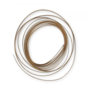 Flat bronze wire for settings 4 mm x1m