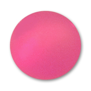 Round Polaris bead 14mm Indian Pink x1