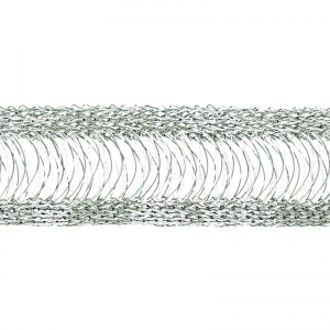 Tissage Wire Luxe 20 mm Mercury x 23cm