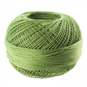 cotton yarn Lizbeth size 20 Medium Leaf Green n°684 x192m