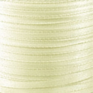 Satin ribbon 4 mm Yellow x 5m