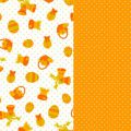 Deco paper sheets Easter nest Orange x2