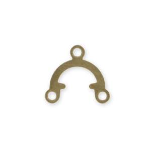 Spacers 9,5x8,5mm Bronze tone x20