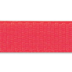 Elastic Raw Ribbon 6mm Red x 1m