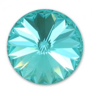 e079f2d87c4f6 Swarovski 1122 Rivoli Round Stone 8mm Light Turquoise