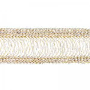 Tissage Wire Luxe 20 mm Champagne x 23cm