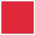 Printed felt wool square with dots 1 mm 30x30 cm Red/Light Red x1