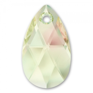 b7def63de Swarovski Tear drop 6106 16mm Crystal Luminous Green x1 - Perles & Co