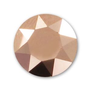 Cabochon 1088 6mm Crystal Rose Gold