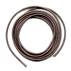 Cotton waxed cord 2mm Brown x5 m