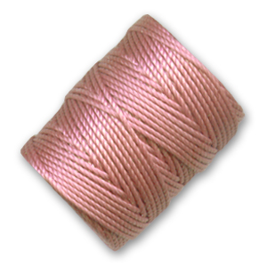 C-Lon Tex 400 Bead Cord 0,90mm  Rose x 35 m