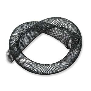 In mesh 18mm Black x 1 m
