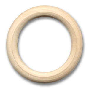 Wooden ring 55mm x1