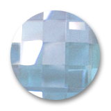Swarovski 2035 Flat Back Stone 6mm Aquamarine