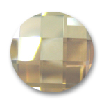 Swarovski 2035 Flat Back Stone 10mm Crystal Golden Shadow