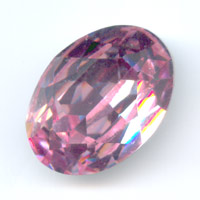 Swarovski 4120 Oval Fancy Stone 18x13mm Light Rose