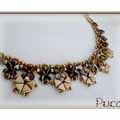 Kheops® Necklace, Pinch and Rocailles by Puca