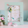 DIY Wedding: create a bohemian theme menu board