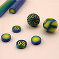 Learn how to make your polymer clay canes