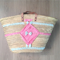 Customization basket natural palm and Creative paper