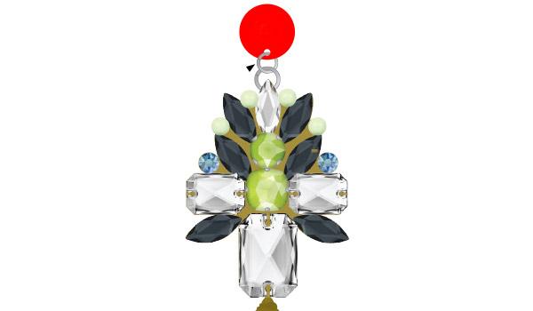 8d5317f39b70 Tutoriel DIY facile Boucles d oreilles Spring sparkle en cristaux Swarovski  et pompon