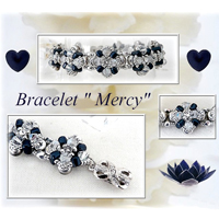 Mercy bracelet with IOS® and Amos® beads by Puca®