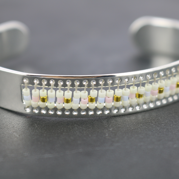 miyuki delicas bead wrap bracelet in wrap perles co. Black Bedroom Furniture Sets. Home Design Ideas
