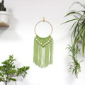 DIY Wall Hanging Macramé Easy Wood Beads