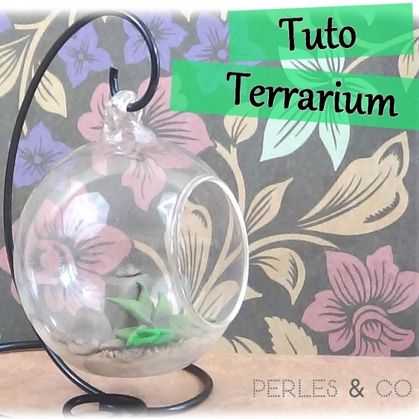 Diy Terrarium Holder In Aluminum Wire And Succulent Plants In
