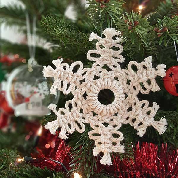 Diy Macrame Christmas Star Perles Co