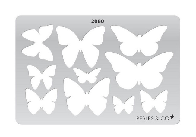 Butterfly Template Motif Pate Polymer