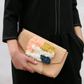 DIY easy custo clutch bag with toile toile and crochet smyrne by Julie Robert