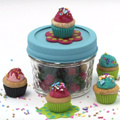 Make gourmet cupcakes easy in polymer clay Fimo Cernit