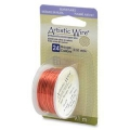 Colored copper wire Artistic Wire 0.51 mm Peach x9,1m